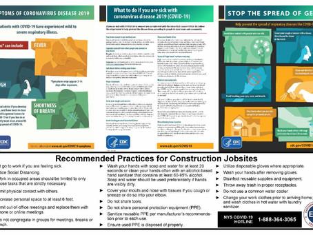 COVID-19 Jobsite Posters Resource!