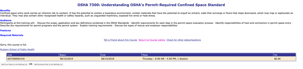 OSHA's Final Rule to Better Inform Workers About Workplace Hazards