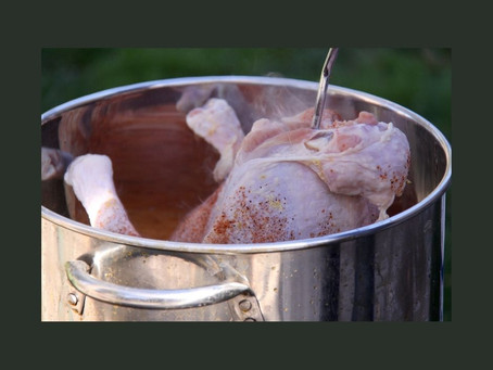 Are you frying your turkey next week?