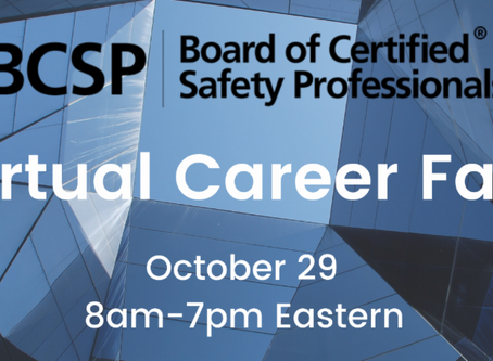 Don't Forget BCSP's Virtual Career Fair is Next Week!