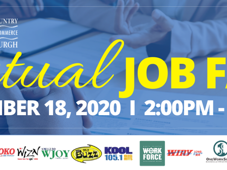 North Country Chamber Virtual Job Fair - November 18th!