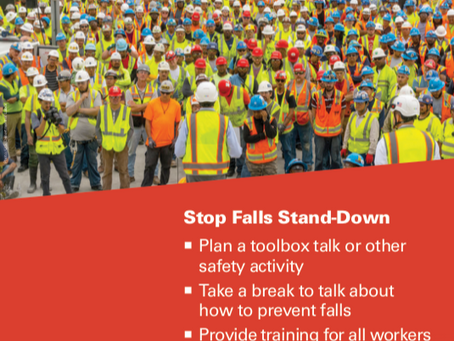 A Five Year Look-Back: National Safety Stand-Down to Prevent Falls in Construction