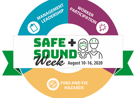 It's Safe & Sound Week! Are you participating?