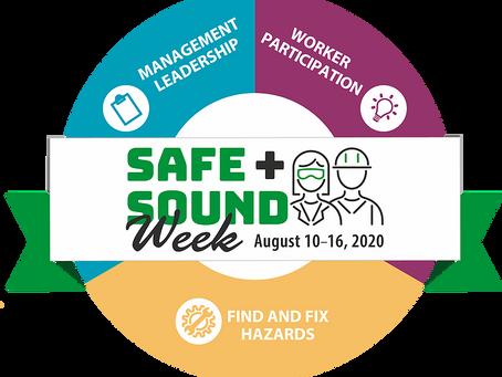 OSHA Encourages Employers To Mark National Safe + Sound Week