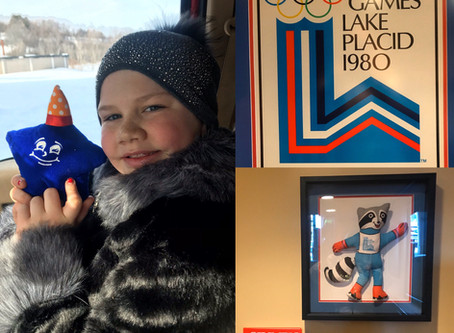 Seymour the Star celebrating 40th Anniversary of Miracle on Ice!