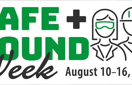 Did you know Safe + Sound week is August 10-16?