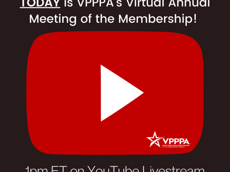 VPPPA Annual Meeting of the Membership Recording