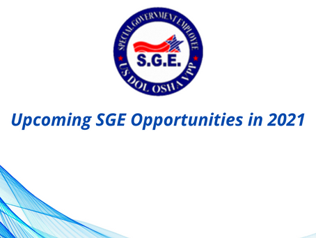 There are opportunities to support OSHA Region 3 this August and October!
