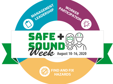 Are you participating in Safe + Sound Week, August 10th-16th?