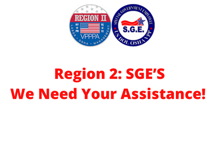 There are several upcoming SGE opportunities currently open in Region II!