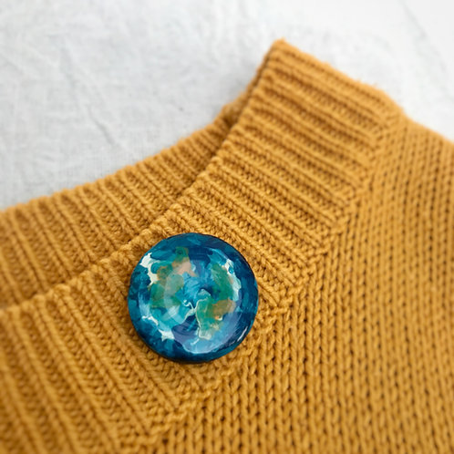 Turquoise Celestial Pin