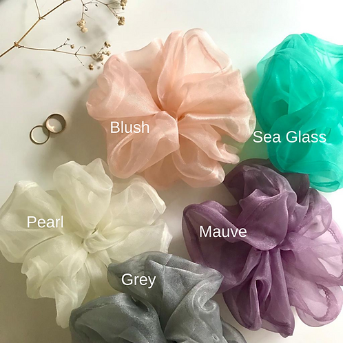 ORGANZA | Make your own scrunchie set