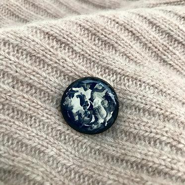 Black Celestial Pin