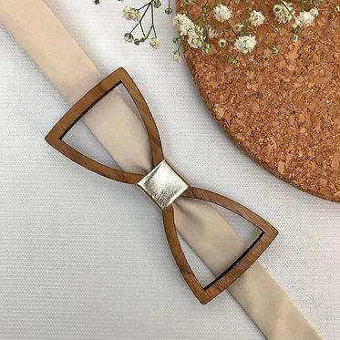 Standard Frame Wooden Bow Tie