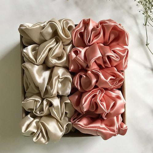 Make your own scrunchie set