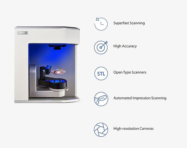 Highlights of Features of Medit Scanner.