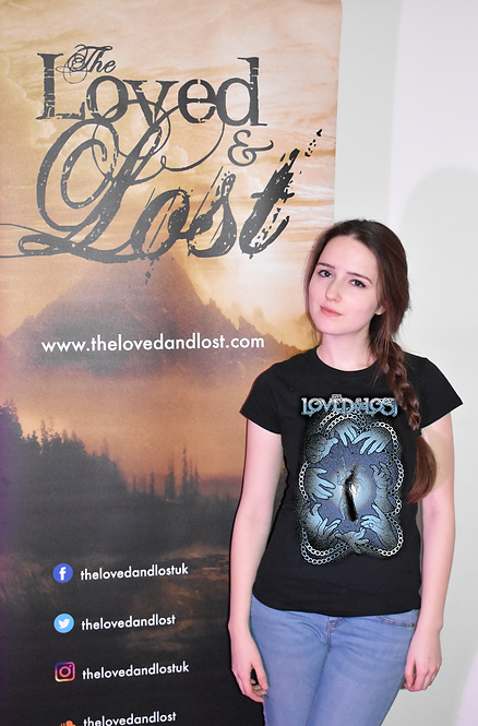 "The Loved and Lost ""Blue"" Ladies T-Shirt"