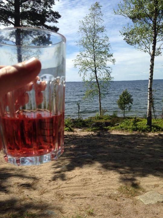 Our beautiful view in Kesälahti