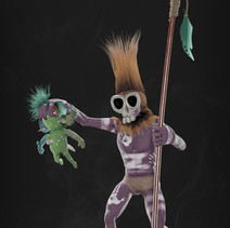 Warrior and Voodoo Doll