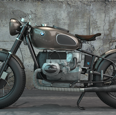 "BMW R80 ""Mobster"""