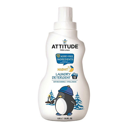 Attitude Little One Laundry Detergent Soothing Chamomile Night 嬰幼兒濃縮衣物洗衣液 洋甘菊