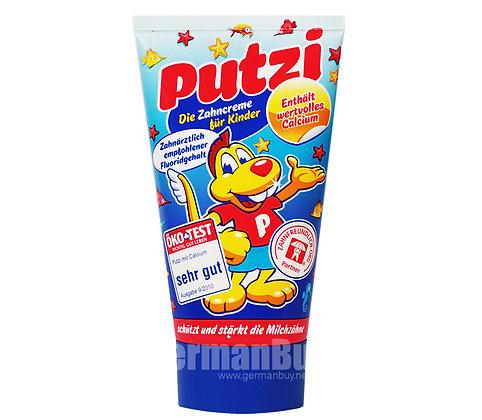 德國 PUTZI 原味加鈣味嬰幼兒牙膏 50ml