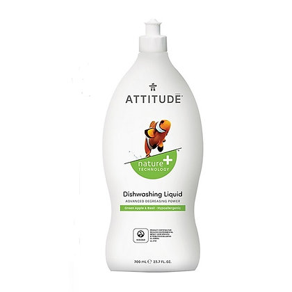 ATTITUDE 天然環保洗碗液 青蘋果羅勒香型 700mL
