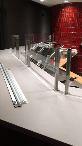 "18""Skyliner (TM) 18"" in Height for each divider post. (glass not included)."