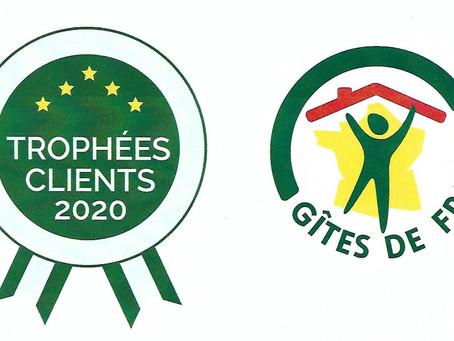 """Chez la Georgette obtient le """"Trophée Clients 2020"""""""