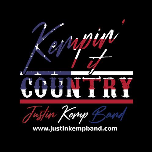 Kempin' It Country RWB Flag Sticker (3x3)