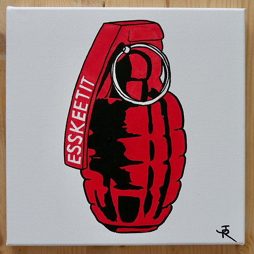 Grenade  ESSKEETIT de LIL PUMP