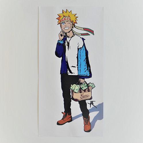 Poster Naruto 120x60 de face