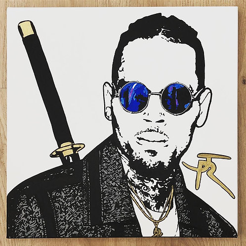 Chris Brown Samurai