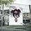 Poster JR Artiste 60x80 cm TRIPPIE REDD SKULL