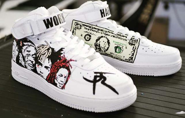 Customisation sneakers : Comment le faire soi-même ?