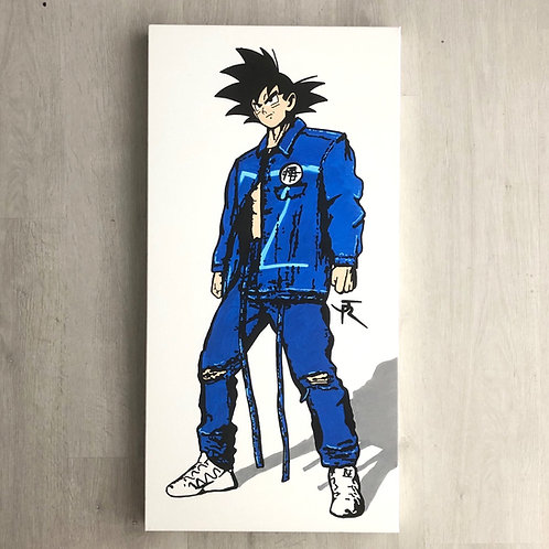 SAN GOKU en Louis Vuitton - Tableau
