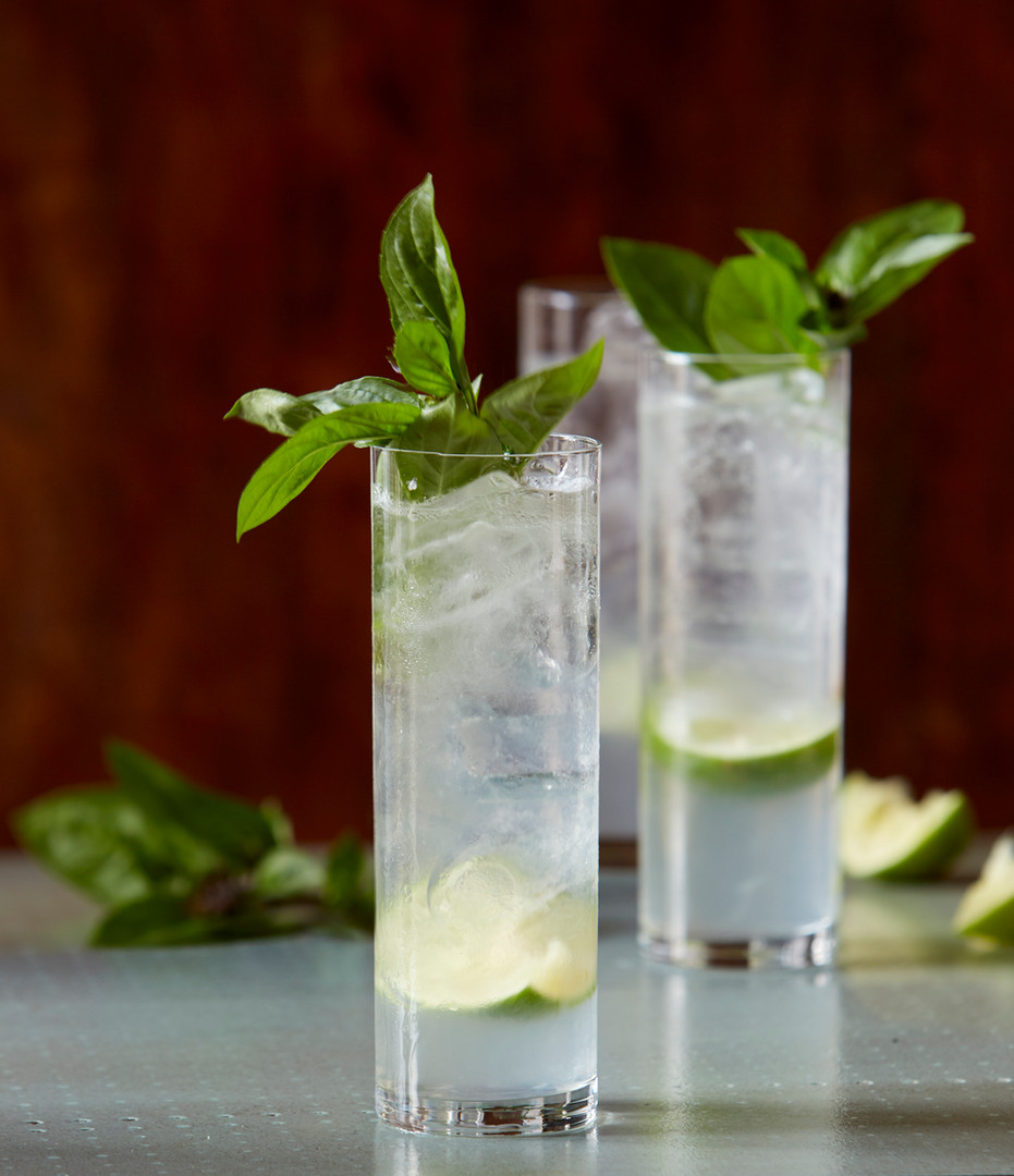 Basil Lime Cocktail