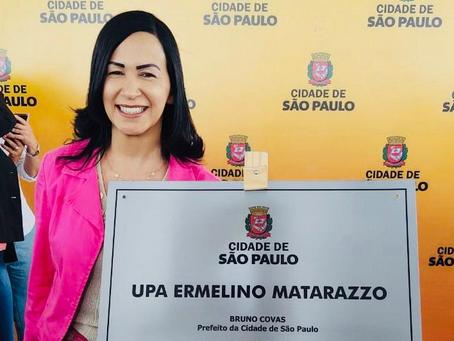 Inauguração da UPA no bairro de Ermelino Matarazzo ZL