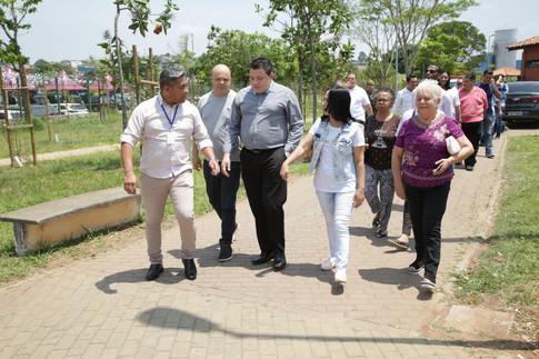 Visita ao Parque de Guaianases