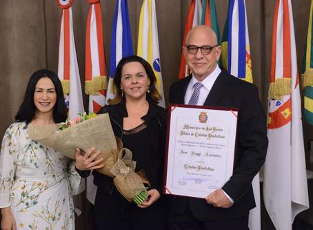 Título de Cidadão Paulistano ao Dr. José Duggi Kacowicz