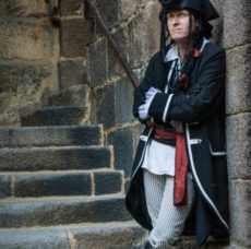 Présence de Morgan au Chateau du Taureau
