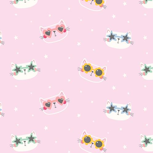 French Terry Gafas de sol gatos