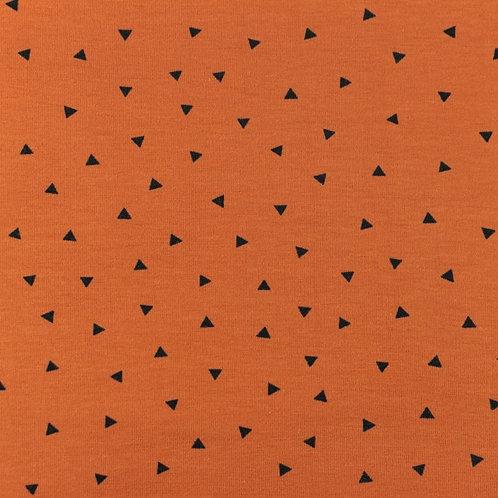 Punto jersey Triángulos ladrillo