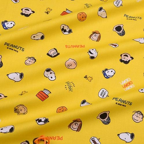 50 cm Popelín Snoopy y amigos