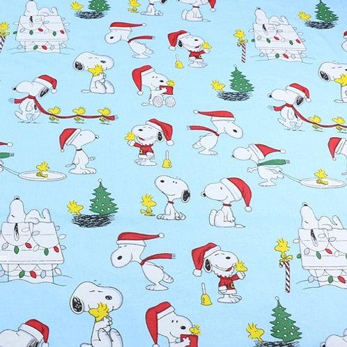 Popelín Snoopy Navidad