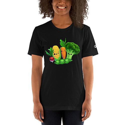 Short-Sleeve Unisex T-Shirt - Funky Veggies