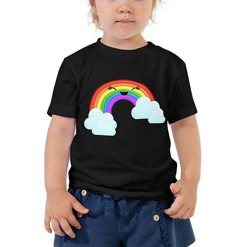 Toddler Short Sleeve Tee - Rainbow