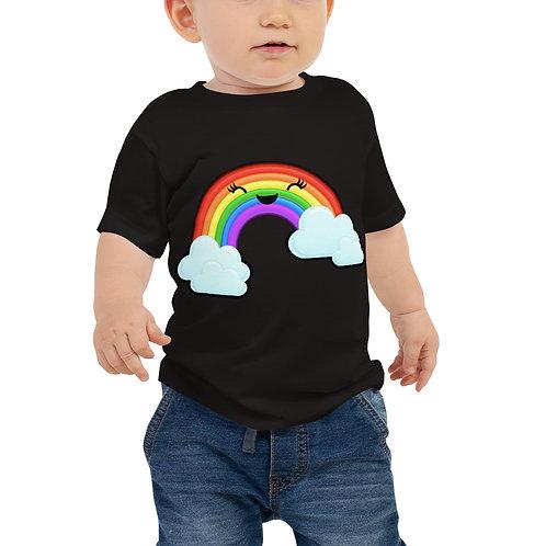 Baby Jersey Short Sleeve Tee - Rainbow