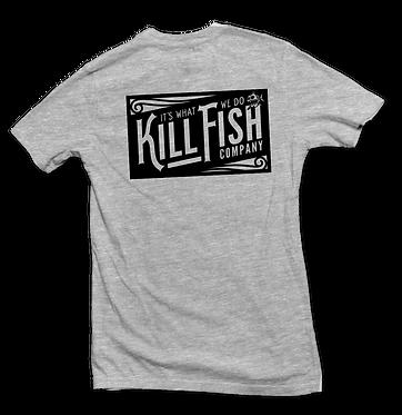 """T-Shirt Ash """"Vintage"""" Without Pocket"""