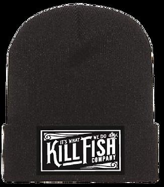 Kill Fish Vintage Theme Beanie
